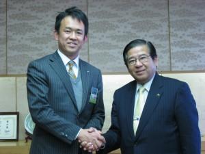 市長と理事長
