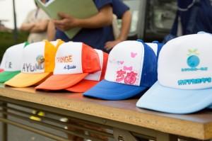 キャンプ帽子